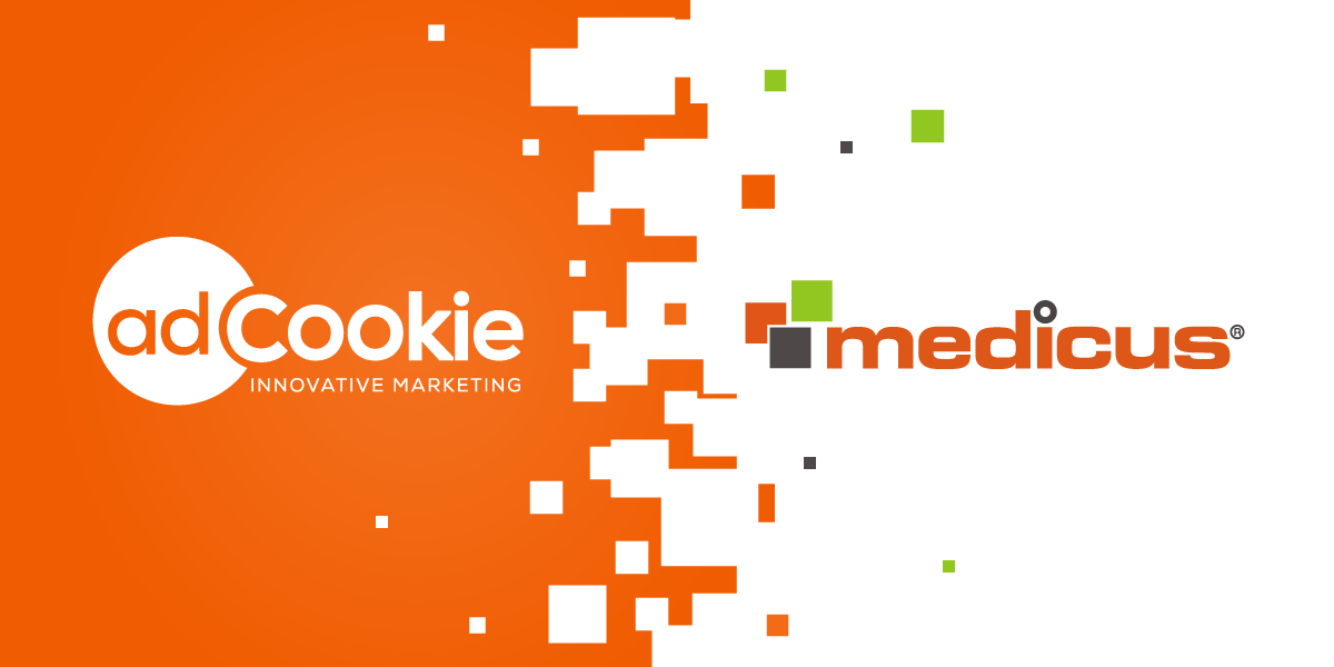 logos of adcookie and medicus